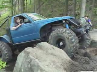 Pickup Truck Rock Climbing from:ATV CRASHER