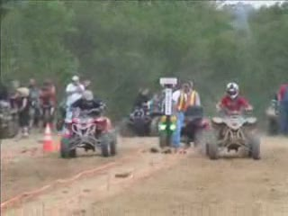 ATV Drag races from:ATV CRASHER