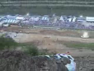 ATV Hillclimbing crash and flip from:ATV CRASHER