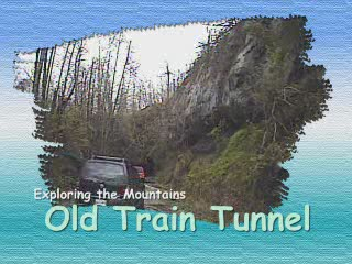 Old Train Tunnel from:ATV CRASHER